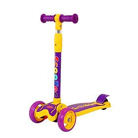 Xe trượt Scooter ba bánh phát sáng - gấp gọn