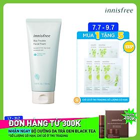 Sữa Rửa Mặt Dành Cho Da Mụn Innisfree Bija Trouble Facial Foam 150g - 131171093