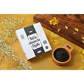 Bột lá nhuộm tóc màu Đen Ogatic 50gr thảo dược