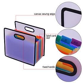 Túi 12 Ngăn Đựng Hồ Sơ Giấy Tờ A4 (33.3 x 31 x 3cm)