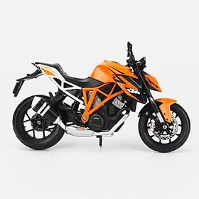 Mô Hình Xe KTM 1290 Super Duke Orange 1:12 Maisto MH-31101(20-13065)