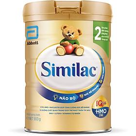 Sữa Bột Cho Bé Similac Eye-Q 2 HMO 900g Gold Label