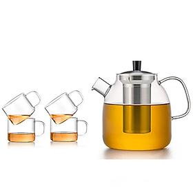 Bộ bình trà thủy tinh Samadoyo S09042 1300mL