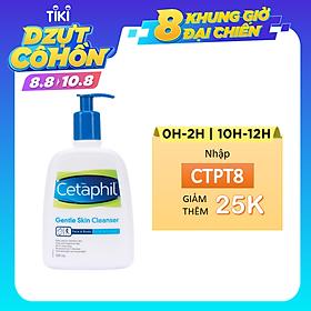 Sữa Rửa Mặt Cetaphil Gentle Skin Cleaner (500ml) - 8394107341305,9318637069637