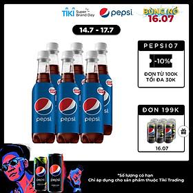 Lốc 6 Chai Nước Ngọt Có Gas Pepsi (330ml/ Chai)