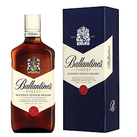 Rượu Whisky Ballantine's Finest 700ml 39.7% - 40.3% - Kèm Hộp