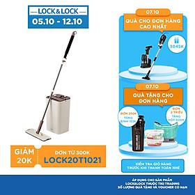 Bộ Cây Lau Nhà Lock&Lock Squeeze Flat Mop ETM471