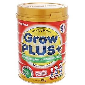 Sữa cho trẻ từ 1-10 tuổi bị suy dinh dưỡng, thấp còi Nutifood Grow Plus+ Đỏ 900g