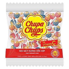 Kẹo Mút Chupa Chups Hương Trái Cây Hỗn Hợp (50 Que / Gói)