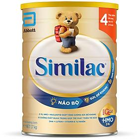 Sữa Bột Cho Bé Similac Eye-Q 4 HMO 1.7kg Gold Label