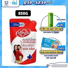 Sữa Tắm Lifebuoy 850g Bảo Vệ Vượt Trội 10 Giúp Bảo Vệ Khỏi 99.9% Vi Khuẩn Và Ngăn Ngừa Vi Khuẩn Lây Lan Trên Da Tốt Nhất