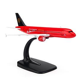 Mô Hình Máy Bay A320 AIRASIAN,COM (MU) EVERFLY 16CM