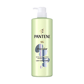 Dầu Xả Pantene Pro-V Micellar Làm sạch & Dưỡng ẩm Chiết xuất Hoa súng 530 ml