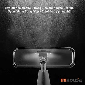Cây lau nhà Xiaomi 2 trong 1 - Có phun nước Deerma Spray Water Spray Mop - Hàng Chính Hãng