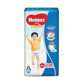 Tã quần Huggies Big Jumbo size XXL38 - 38 Miếng (15 - 25kg)