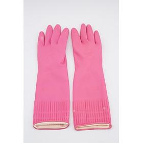 Bộ 2 đôi găng tay rửa chén bát cao su - GIAO MÀU NGẪU NHIÊN