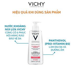 Nước Tẩy Trang Dành Cho Da Nhạy Cảm Vichy Mineral Micellar Water Sensitive 200Ml