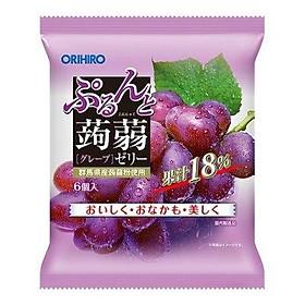 Thạch trái cây Orihiro vị nho tím 120g