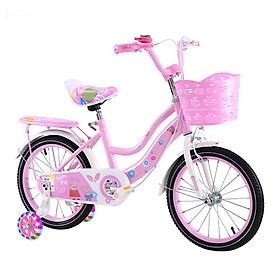 Xe đạp trẻ em 2 gióng màu Hồng dành cho bé gái