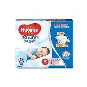 Tã dán sơ sinh Huggies S30 - 30 miếng (5 - 8 kg)