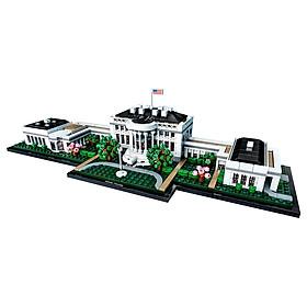 Đồ chơi lắp ráp mô hình LEGO ARCHITECTURE Nhà Trắng ở Mỹ 21054