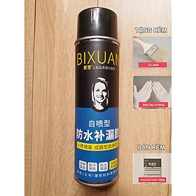 700ml - Bình xịt sơn chống thấm chống dột Bixuan dung tích lớn, chống thấm trần nhà công nghệ Thụy Sĩ