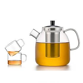 Bộ bình trà thủy tinh Samadoyo S09022 1300mL