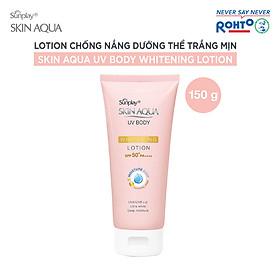Kem Chống Nắng Dưỡng Thể Trắng Mịn Sunplay Skin Aqua Uv Body Whitening Lotion SPF 50+ Pa++++ (150G)