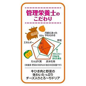 Súp bò nấu rau củ Pigeon 80g