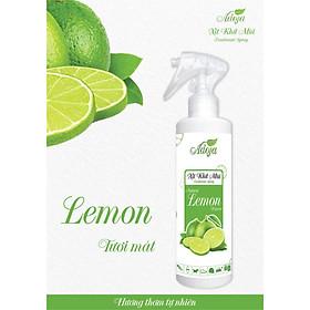 Xịt phòng, xịt khử mùi ADOJA - LEMON (HƯƠNG CHANH) 250ml