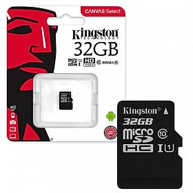 Thẻ Nhớ Micro SD Kingston 32GB SDHC Class 10 Không Adapter - Hàng Chính Hãng