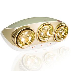 Đèn sưởi nhà tắm 3 bóng Kohn Braun KU03G - Hàng Chính Hãng