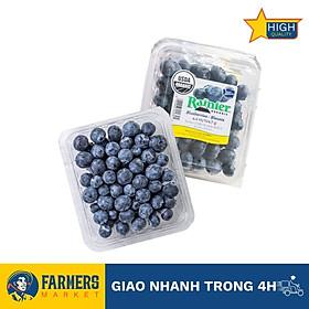 [Chỉ Giao HCM] - Việt quất hữu cơ Rainier Mỹ (Hộp 125G)