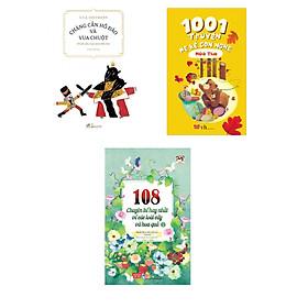 Combo 3 cuốn Chàng cắn hồ đào và Vua Chuột + 1001 truyện mẹ kể con nghe - Mùa thu + 108 chuyện kể hay nhất về các loài cây và hoa quả Tập 2