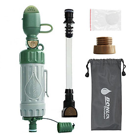 Multiple Fuction Water Purifier Portable Water Filter Straw Drinking Water Filtration Purifier for Outdoor Survival
