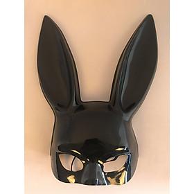 Mặt Nạ Nhựa Hóa Trang Thỏ Bunny