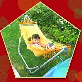 Võng xếp BAN MAI, võng cho trẻ em, nguyên bộ gồm khung võng và lưới võng