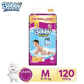 Tã quần Bobby gói Mega Jumbo (chỉ bán online)
