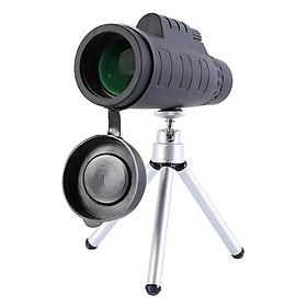 Ống ngắm sao đêm-ống nhòm 1 mắt mini đi du lịch tích hợp kẹp điện thoại quay video chụp ảnh cao cấp DA50X60 (Tặng bộ 100 ngôi sao dạ quang phát sáng)