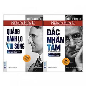 Combo 2 Cuốn Sách Đắc Nhân Tâm + Quẳng Gánh Lo Đi Và Vui Sống ( tặng kèm bookmark TH )