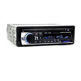 Máy Nghe Nhạc MP3 Bluetooth Âm Thanh Nổi 4X60W Gắn Ô Tô - Đen (12V) (1 Din)