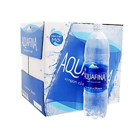 Thùng 12 chai nước tinh khiết Aquafina 1,5l - 63068