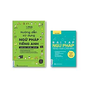 Combo Hướng Dẫn Sử Dụng Ngữ Pháp Tiếng Anh + Bài Tập Ngữ Pháp Tiếng Anh Căn Bản  (  tặng kèm IRing siêu dễ thương )