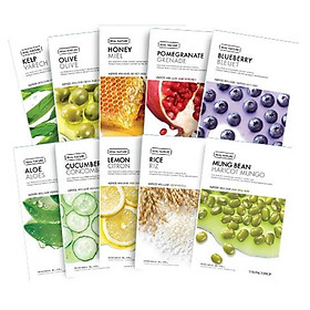 THE FACE SHOP Real Nature Face Mask Set (Total10 Sheets)