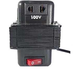 Biến thế đổi điện 220V - 100V công suất 100W, lõi đồng