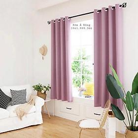 Rèm trang trí cửa sổ phòng ngủ, phòng khách, cản sáng 80%, 1.3x1.8m