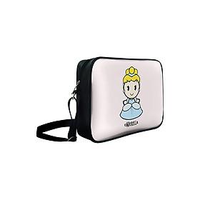 Túi Đeo Chéo Hộp Unisex Công Chúa Cinderella - TCCT726