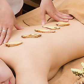 Massage Gừng Giải Độc Giảm Đau Nhức (Nữ / Cặp Đôi) 90 Phút (Miễn Tip) Tại Thị Spa