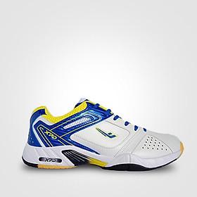 Giày cầu lông XPD chính hãng mã 803 màu trắng xanh - Tặng bình làm sạch giày cao cấp