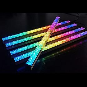 Thanh Led RGB Crystal Aura Sync đồng bộ Hub + Sync với main 3Pin 5V cho máy tính